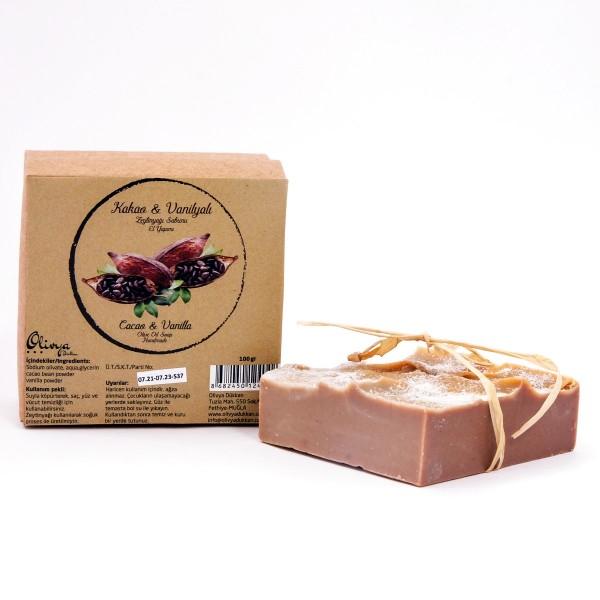Zeytinyağı Sabunu-Kakaolu Vanilyalı
